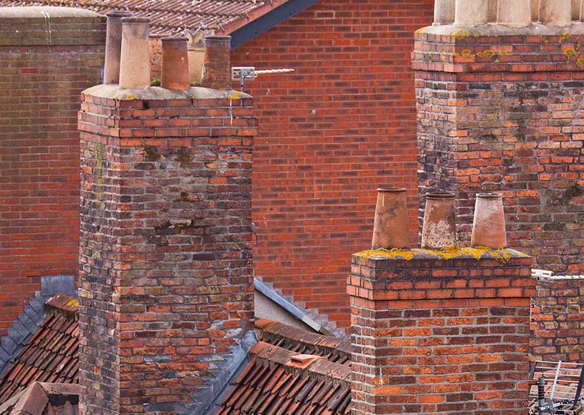 BUSY CHIMNEYS